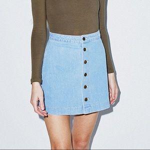 American Apparel high waisted skirt